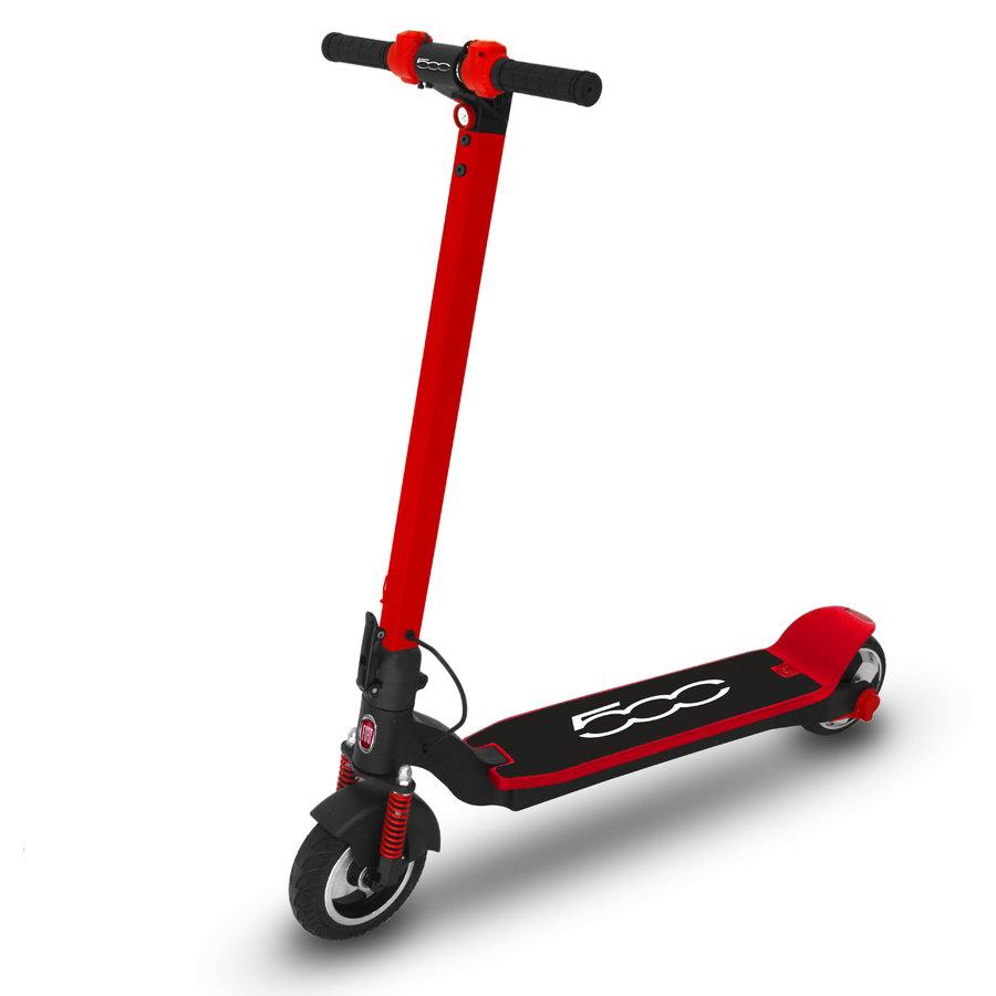 Trotineta electrica F500-F80R viteza 25 km roti 8 inch 250W Red thumbnail