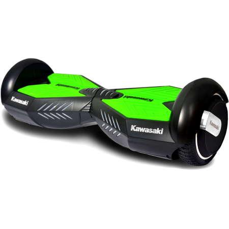 HoverBoard electric Kawasaki KX-PRO6.5A viteza 25 km roti 6.5 inch 500W Black Green