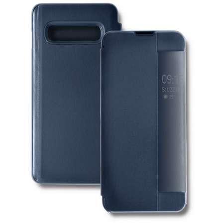 Husa Flip Cover Qoltec Premium Navy Blue pentru Samsung Galaxy S10 Lite