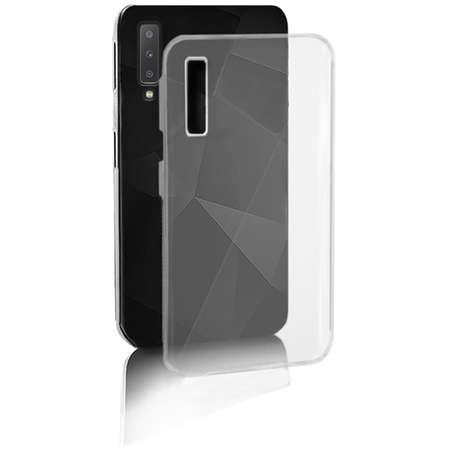 Husa Protectie Spate Qoltec Premium Hard Clear pentru Samsung Galaxy A7 2018