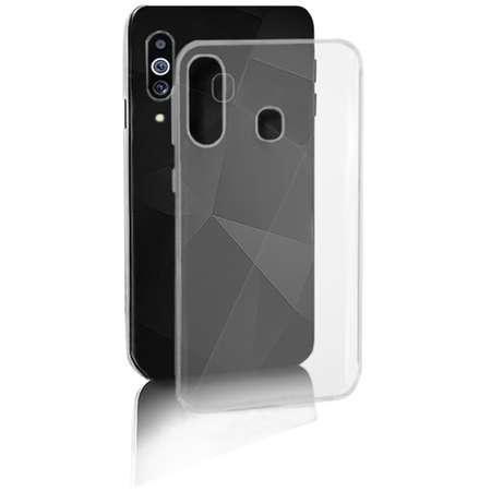 Husa Protectie Spate Qoltec Premium Hard Clear pentru Samsung Galaxy M40