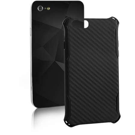 Husa Protectie Spate Qoltec Premium Silicon Negru pentru Apple iPhone 7