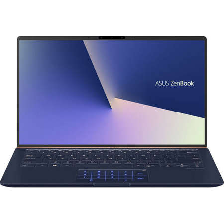 Laptop Asus ZenBook UX433FN-A5230 14 inch FHD Intel Core i5-8265U 8GB DDR3 256GB SSD nVidia GeForce MX150 2GB Royal Blue