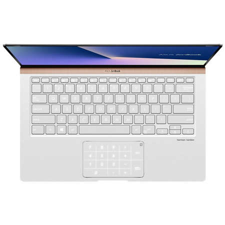 Laptop Asus ZenBook UX433FN-A5243 14 inch FHD Intel Core i5-8265U 8GB DDR3 256GB SSD nVidia GeForce MX150 2GB Icicle Silver