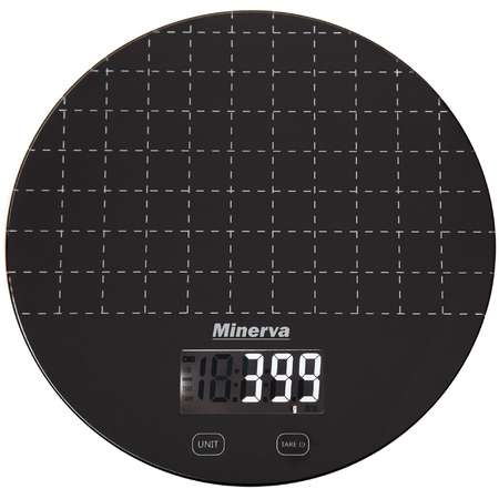 Cantar de bucatarie Minerva Experience Experience Eclipse K45 5 kg Negru