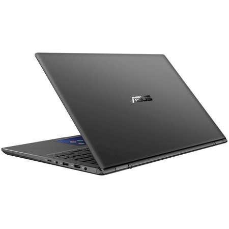Laptop Asus ZenBook Flip 15 UX562FDX-A1005R 15.6 inch UHD Intel Core i7-8565U 16GB DDR4 512GB SSD nVidia GeForce GTX 1050 2GB Windows 10 Pro Gun Grey