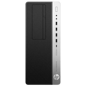 Sistem desktop HP EliteDesk 800 G5 Tower Intel Core i5-9500 8GB DDR4 256GB SSD Windows 10 Pro Black