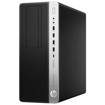 Sistem desktop HP EliteDesk 800 G5 Tower Intel Core i5-9500 16GB DDR4 512GB SSD Windows 10 Pro Black