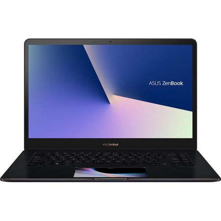 Laptop Asus ZenBook Pro 15 UX580GE-E2032R 15.6 inch UHD Touch Intel Core i9-8950HK 16GB DDR4 1TB SSD nVidia GeForce GTX 1050 Ti 4GB Windows 10 Pro Deep Dive Blue