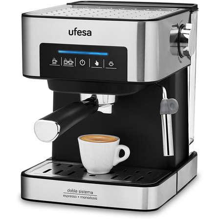 Espressor cafea Ufesa CE7255 1.6 Litri 20 bari 850W Negru / Inox