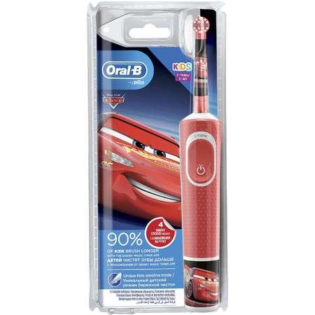 Periuta de dinti electrica Oral-B Vitality Cars 3+ Rosu