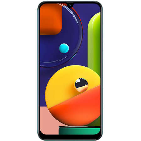 Smartphone Samsung Galaxy A50s A507FN 128GB 6GB RAM Dual Sim 4G Green
