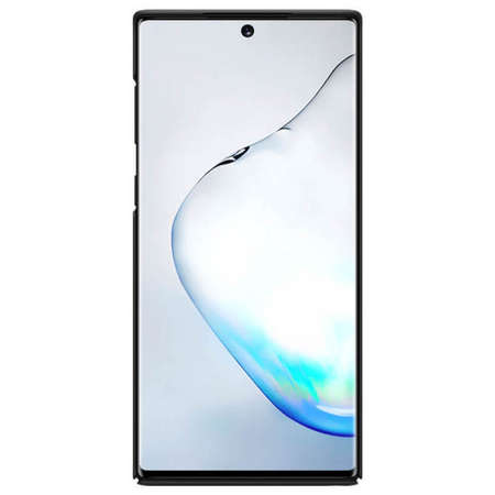 Husa Protectie Spate Nillkin Frosted pentru Samsung Note 10 Negru