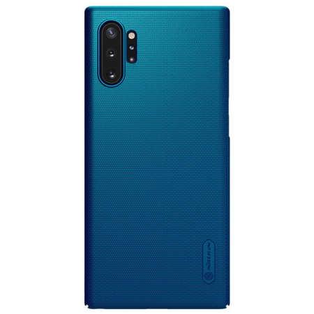Husa Protectie Spate Nillkin Frosted pentru Samsung Note 10 Plus Albastru