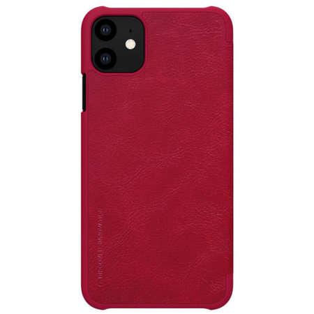 Husa Flip Cover Nillkin Qin pentru Apple Iphone 11 Rosu