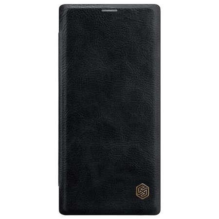 Husa Flip Cover Nillkin Qin pentru Samsung Note 10 Negru