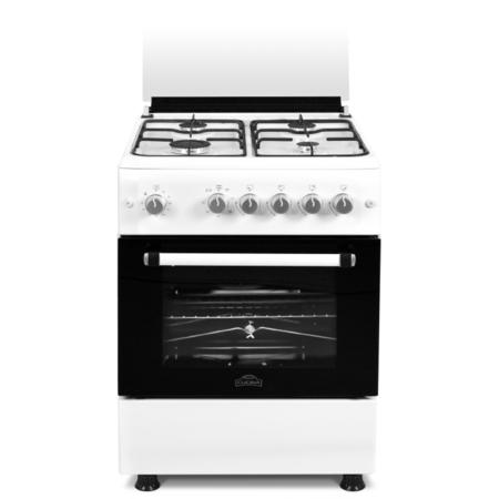 Aragaz Studio Casa Nuova Cucina FG 60/60 Bianco 4 arzatoare gaz Alb