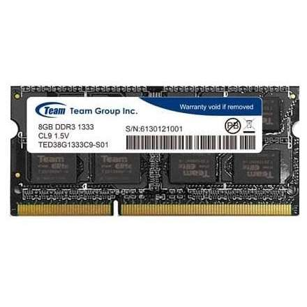 Memorie laptop TeamGroup 8GB DDR3 (1x8GB) 1333MHz CL9
