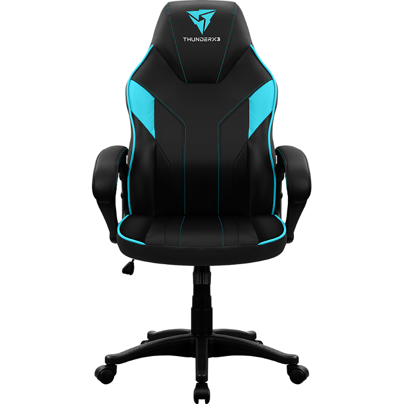 Scaun Gaming Thunderx3 Ec1 Black Cyan