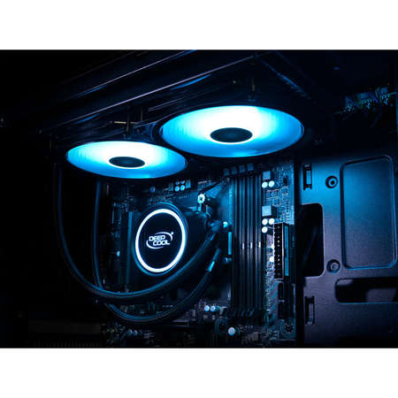 Cooler procesor cu lichid Deepcool Gammaxx L240 V2 Led RGB