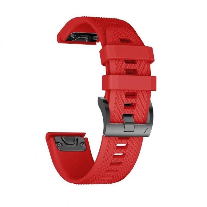 Accesoriu smartwatch Tech-Protect Smooth Garmin Fenix 3/5X/3HR/5X Plus/6X/6X Pro Red thumbnail
