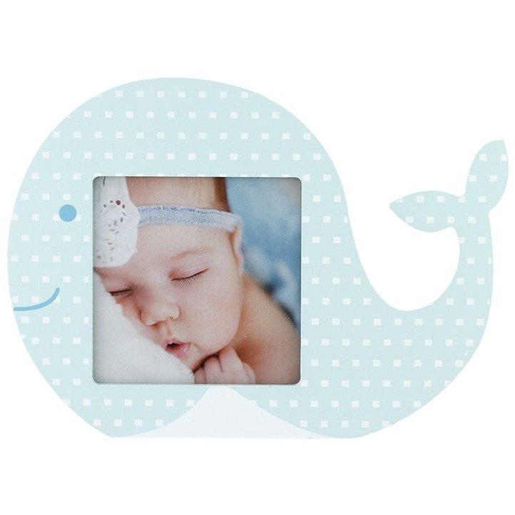 Rama foto decorativa baby fish format foto 10x10 cm Albastru thumbnail
