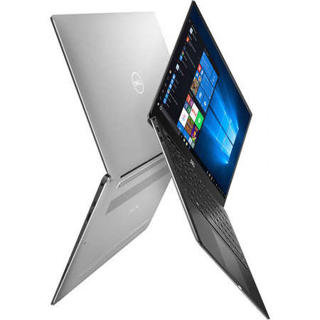Laptop Dell XPS 13 9380 13.3 inch UHD Touch Intel Core i7-8665U 16GB DDR3 512GB SSD FPR Windows 10 Pro 3Yr On-site Silver