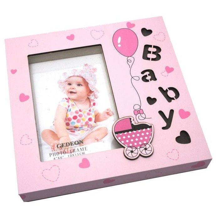 Rama foto cute baby format 10x15 Roz thumbnail