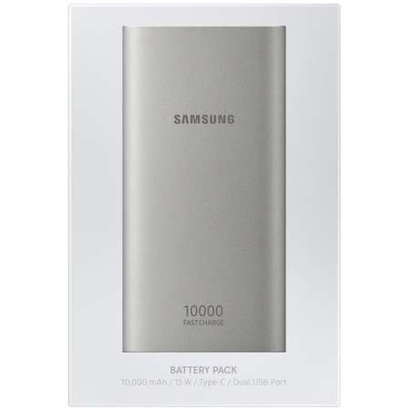 Acumulator extern Samsung EB-P1100C Fast Charge 10000mAh Silver