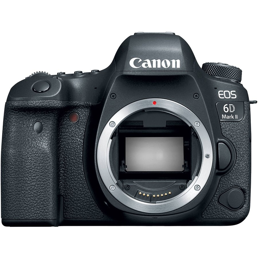 Aparat foto DSLR EOS 6D Mark II 26.2MP Body Black thumbnail