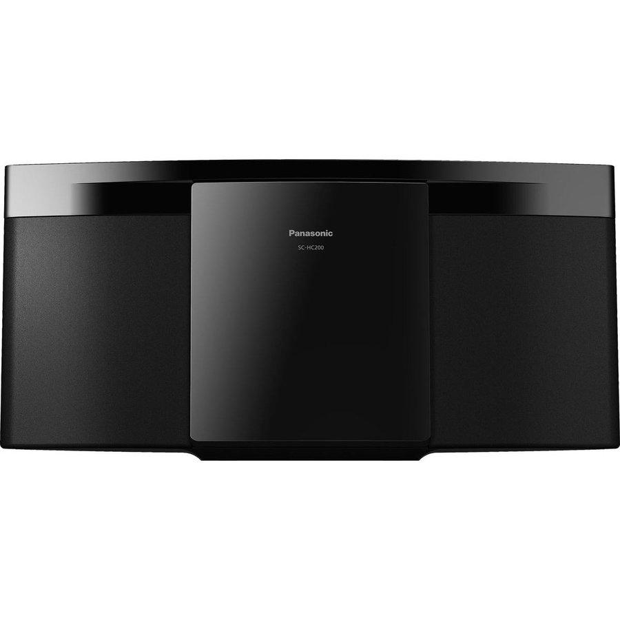 Sistem audio compact SC-HC200EG-K 20W Bluetooth USB Negru
