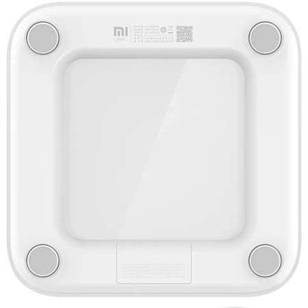 Cantar corporal Xiaomi Mi Smart Scale 2 Bluetooth  Sticla Temperata ABS White