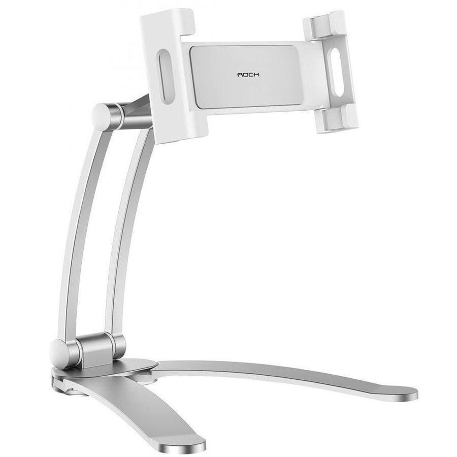Suport universal pentru tableta si telefon Stand Holder Silver