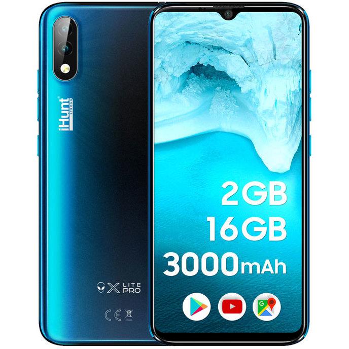Telefon mobil Alien X Lite PRO 2020 16GB 2GB RAM Dual SIM 3G Blue