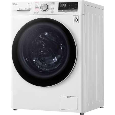 Masina de spalat rufe LG F4WN408S0 8kg 1400 RPM Clasa A+++ Alb