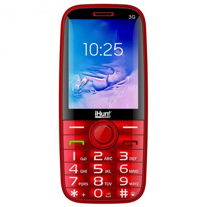 Telefon mobil i5 3G Dual SIM Red