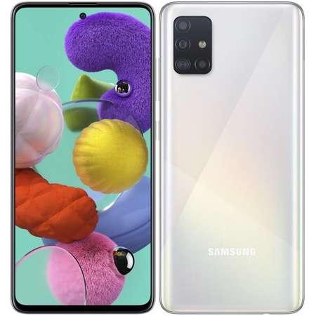 Telefon mobil Telefon mobil Samsung Galaxy A51 128GB 4GB RAM Dual SIM 4G Crush White