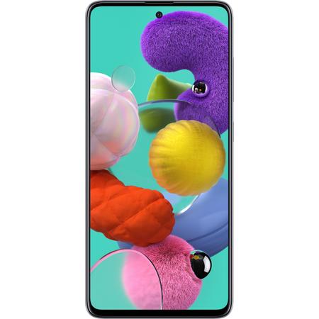 Telefon mobil Samsung Galaxy A51 128GB 4GB RAM Dual SIM 4G Crush White