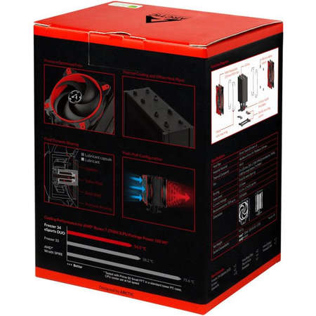 Cooler procesor ARCTIC Freezer 34 eSports DUO Red