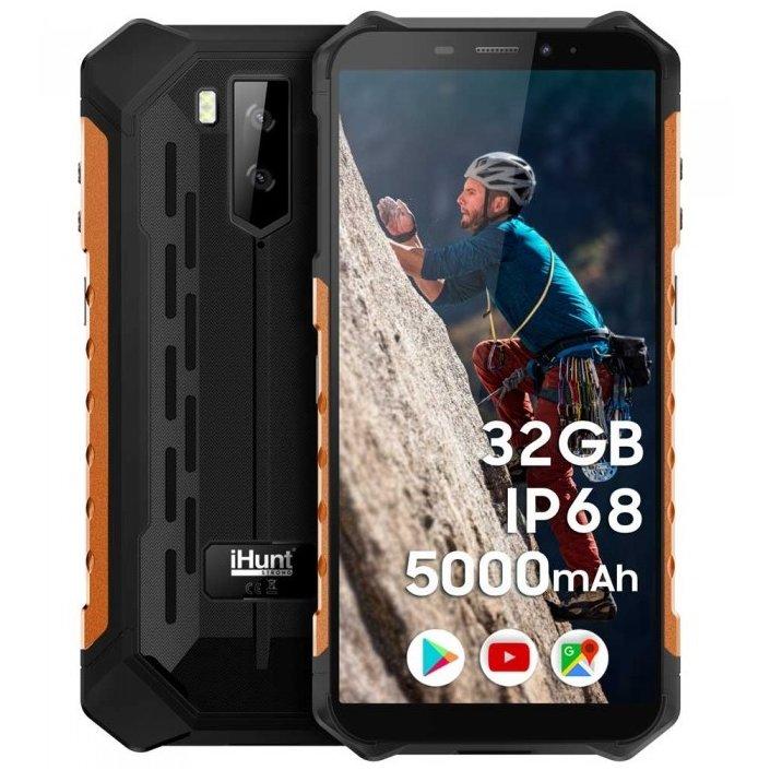 Telefon mobil S10 Tank PRO 2020 Dual SIM 3G Orange