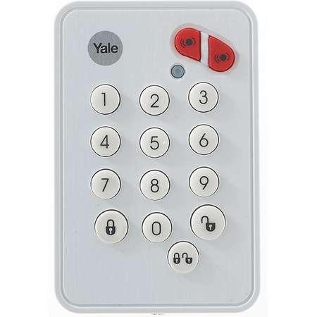 Telecomanda de perete pentru alarma SR-3200i Yale 60-A100-00KP-SR-5011 Alb