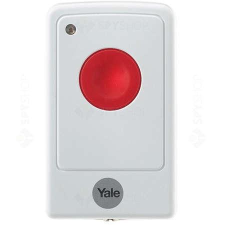 Buton de panica pentru alarma Yale 60-A100-00PB-SR-5011 Alb