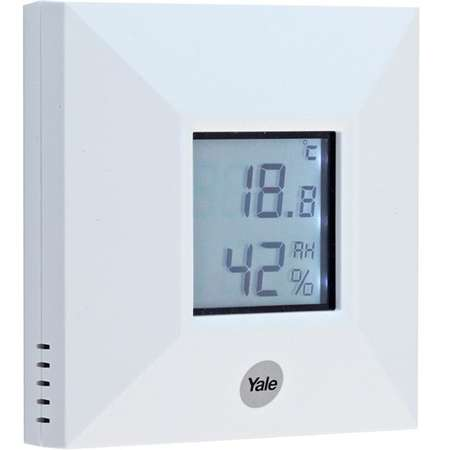 Senzor ambiental de temperatura pentru alarma Yale 60-A300-00RS-SR-5011 Alb
