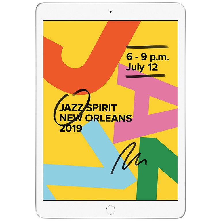 Tableta iPad 7 2019 10.2 inch 32GB WiFi Silver thumbnail