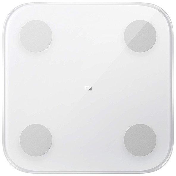 Cantar corporal Mi Body Composition Scale 2 Bluetooth 5.0 Sticla Temperata si ABS Alb thumbnail
