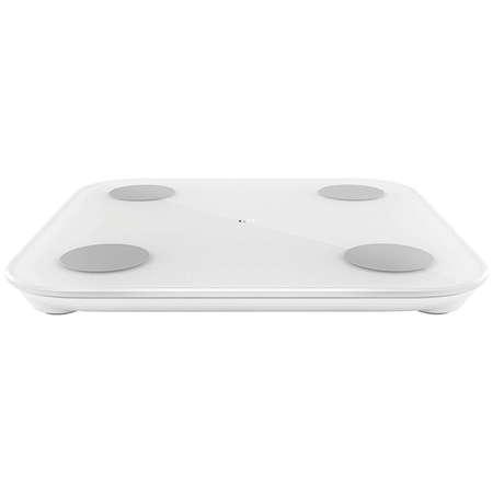Cantar corporal Xiaomi Mi Body Composition Scale 2  Bluetooth 5.0 Sticla Temperata si ABS Alb