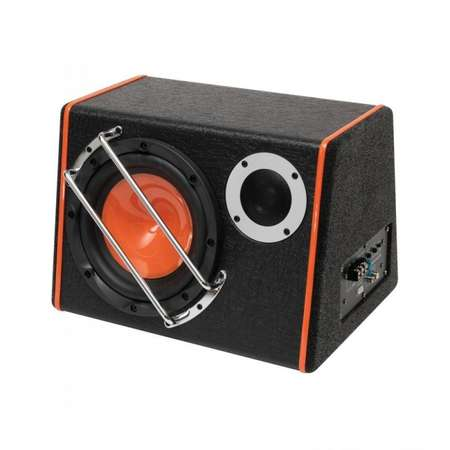 Subwoofer auto activ Sal 2 in1 80w 200 mm 4 ohmi bass-reflex