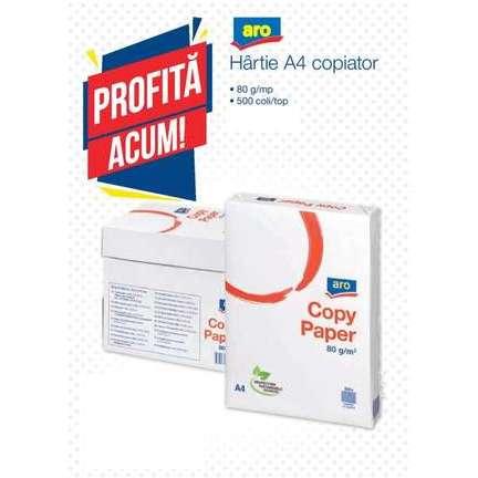 Hartie ARO A4 Copiator 500 coli