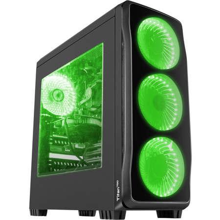 Sistem Gaming Rogue 9 Powered by ASUS AMD Ryzen 7 2700 Octa Core 3.2 GHz 16GB RAM DDR4 nVidia GeForce GTX 1660 Ti TUF GAMING O6G GDDR6 192bit SSD 120GB M.2 + HDD 1TB Free Dos Black