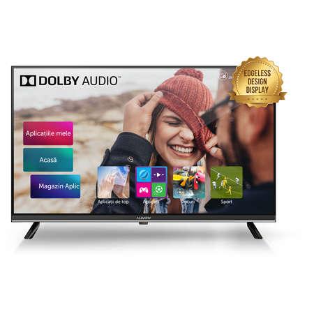 Televizor LED Allview 32ATS5500-H Smart TV  HD Ready 81cm 180 cd/mp Black